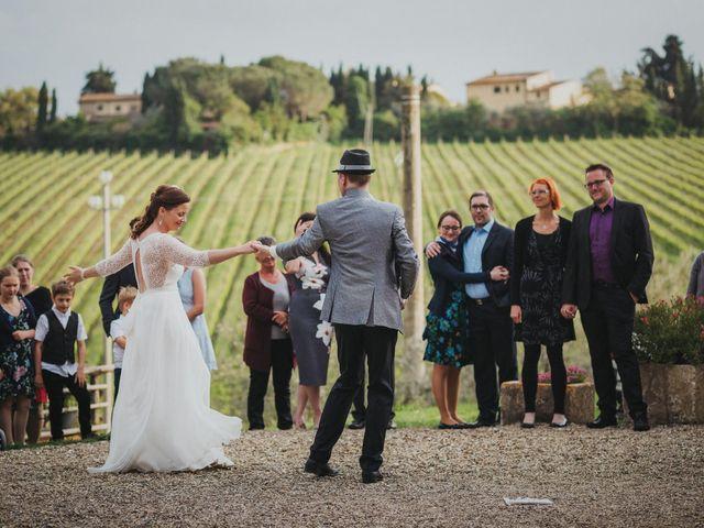 Il matrimonio di Gerald e Sabrina a San Casciano in Val di Pesa, Firenze 58