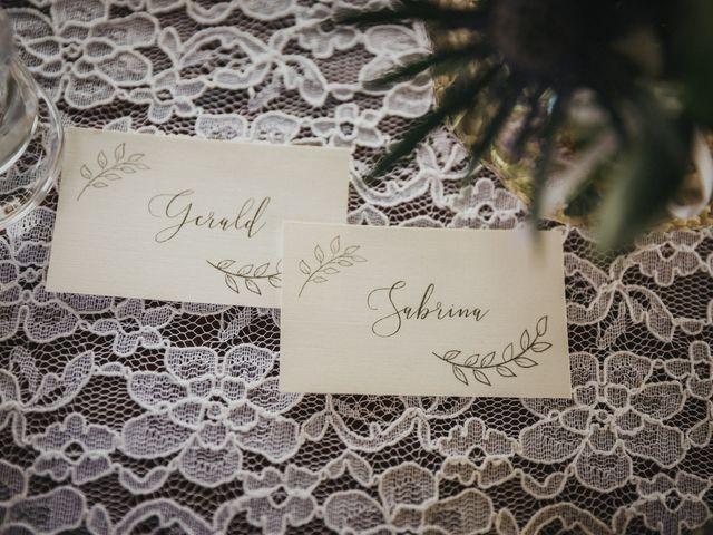 Il matrimonio di Gerald e Sabrina a San Casciano in Val di Pesa, Firenze 64