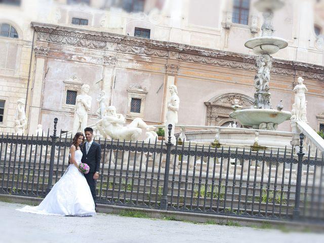 Il matrimonio di Fabrizio e Giovanna a Palermo, Palermo 1