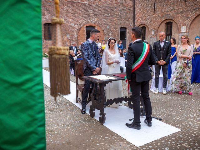 Il matrimonio di Daniele e Chiara a Sant'Angelo Lodigiano, Lodi 43