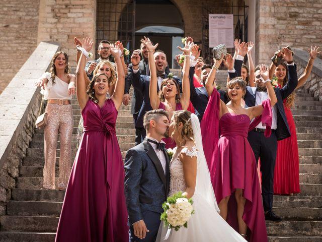 Il matrimonio di Claude e Alessia  a Genga, Ancona 21