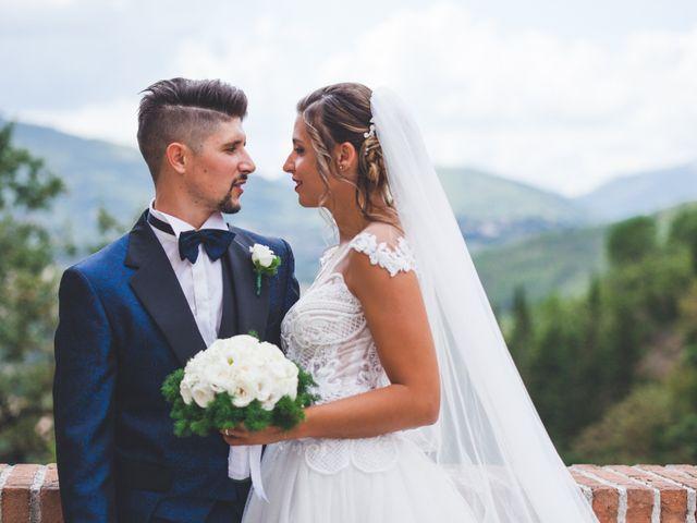 Il matrimonio di Claude e Alessia  a Genga, Ancona 23