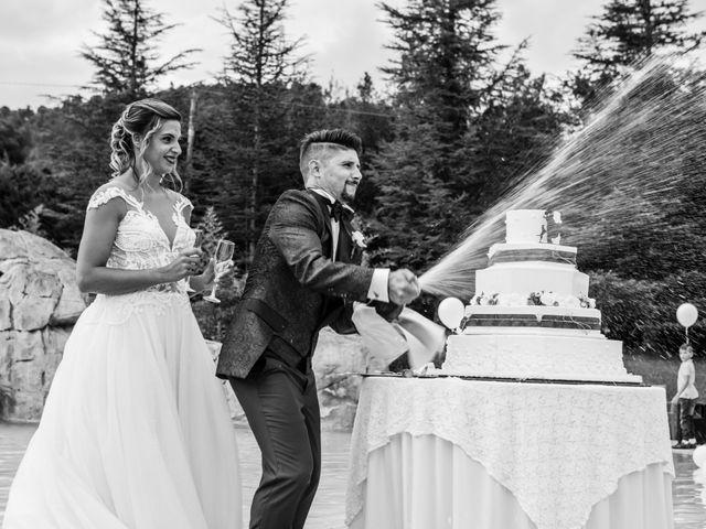 Il matrimonio di Claude e Alessia  a Genga, Ancona 27