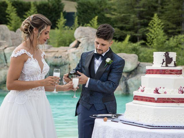 Il matrimonio di Claude e Alessia  a Genga, Ancona 28