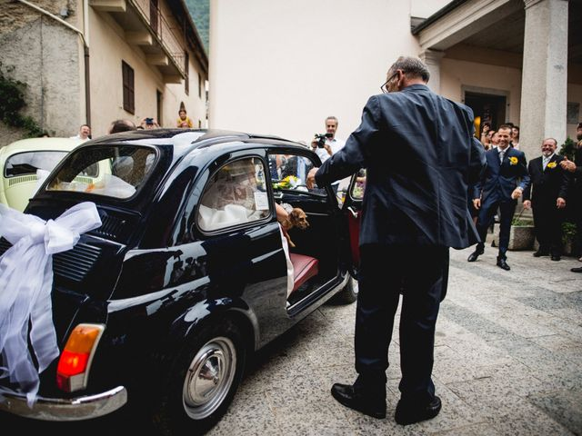 Il matrimonio di Roberto e Michela a Nonio, Verbania 19