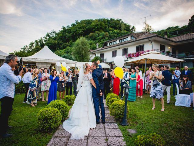 Il matrimonio di Roberto e Michela a Nonio, Verbania 68