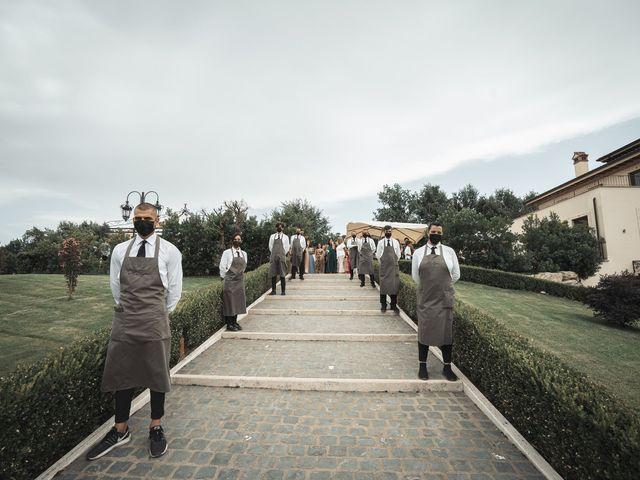 Il matrimonio di Edoardo e Emanuela a Arcinazzo Romano, Roma 15