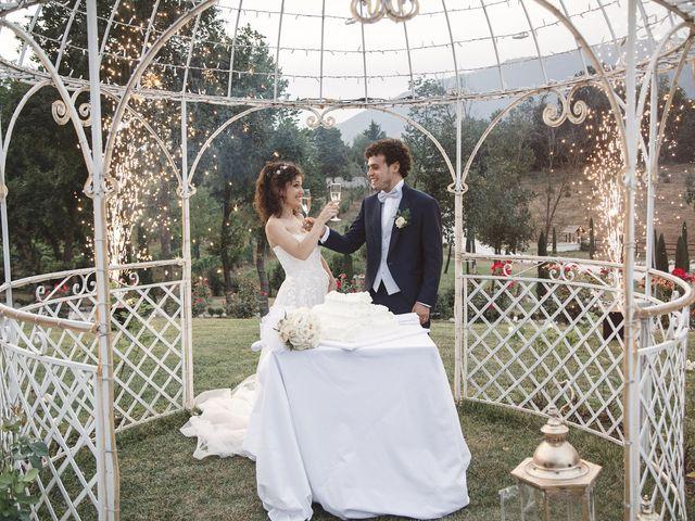Il matrimonio di Edoardo e Emanuela a Arcinazzo Romano, Roma 36