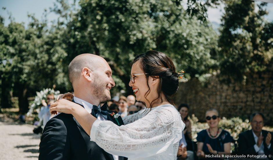 Il matrimonio di Fabio e Camille a Vico Equense, Napoli