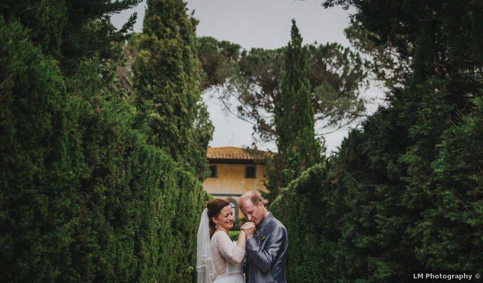 Il matrimonio di Gerald e Sabrina a San Casciano in Val di Pesa, Firenze