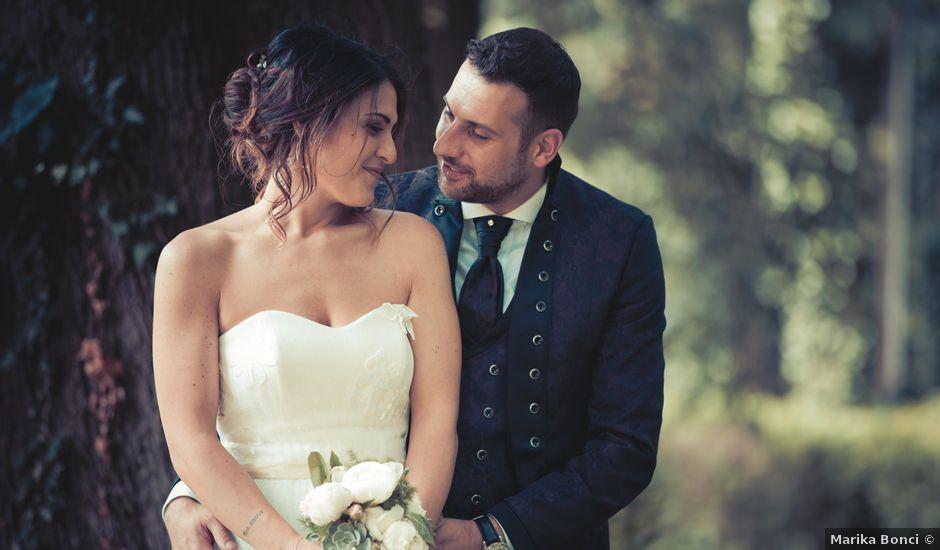 Il matrimonio di Stefano e Giulia a Cupramontana, Ancona