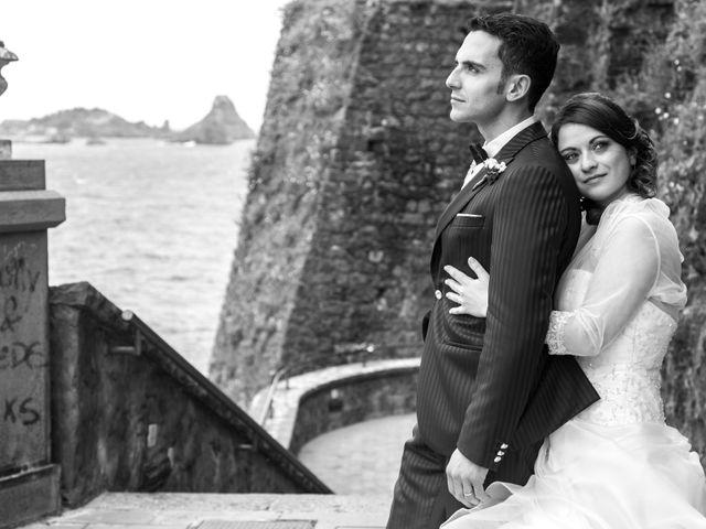 Il matrimonio di Fabio e Laura a Aci Castello, Catania 22