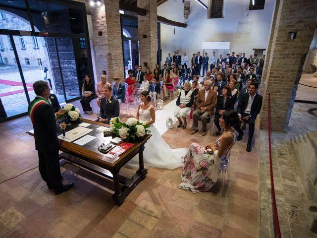 Il matrimonio di Elisa e Daniel a Pagazzano, Bergamo 19