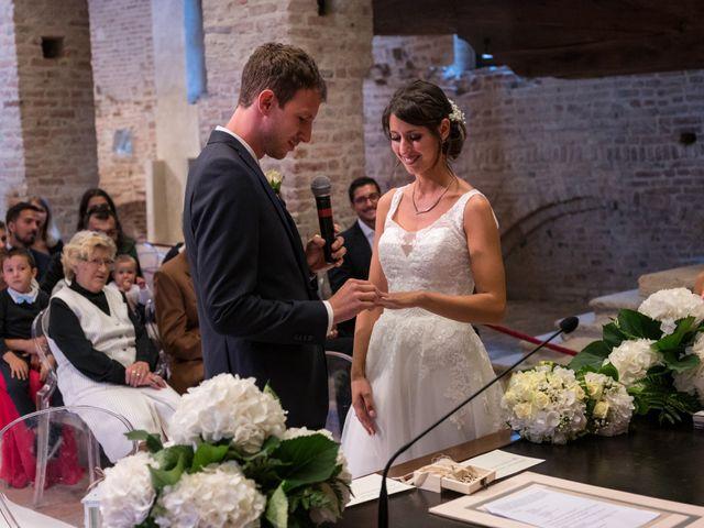 Il matrimonio di Elisa e Daniel a Pagazzano, Bergamo 23