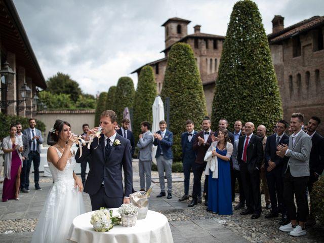 Il matrimonio di Elisa e Daniel a Pagazzano, Bergamo 42