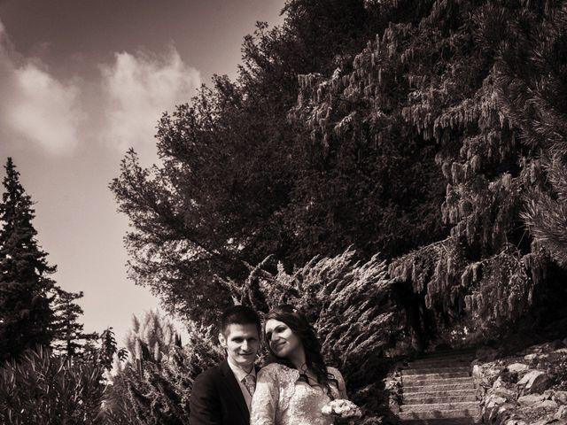 Le nozze di Raluca e Alex