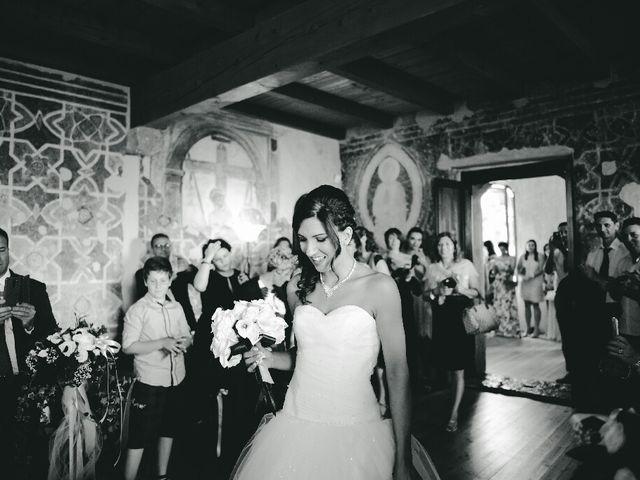 Il matrimonio di Andrea e Eleonora a San Zeno di Montagna, Verona 17