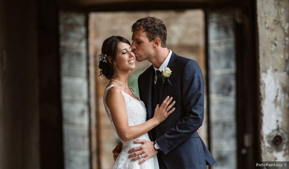Il matrimonio di Elisa e Daniel a Pagazzano, Bergamo
