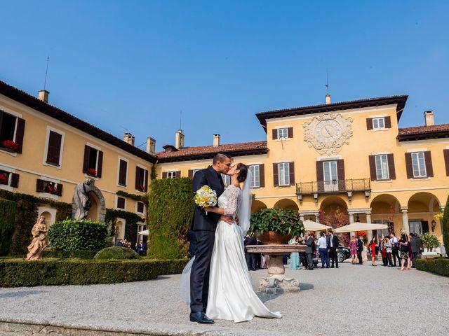 Il matrimonio di Fabrizio e Carlotta a Imbersago, Lecco 49