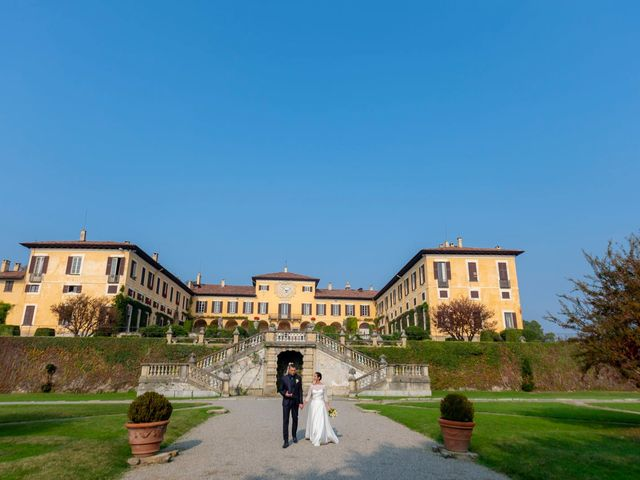 Il matrimonio di Fabrizio e Carlotta a Imbersago, Lecco 64