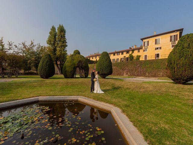 Il matrimonio di Fabrizio e Carlotta a Imbersago, Lecco 69