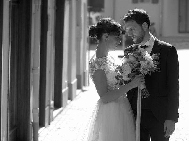 le nozze di Stefano e Elena