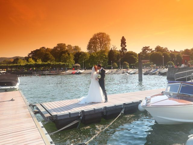 Il matrimonio di Daniele e Rubina a Cernobbio, Como 16