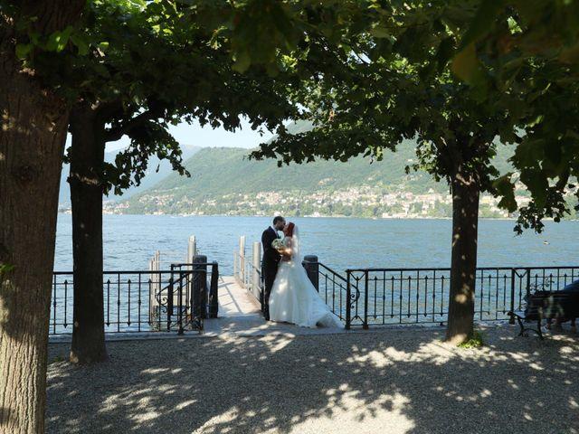 Il matrimonio di Daniele e Rubina a Cernobbio, Como 20