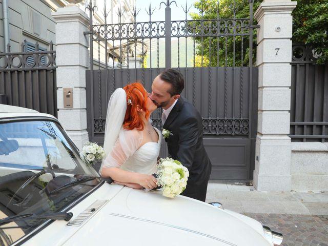 Il matrimonio di Daniele e Rubina a Cernobbio, Como 25