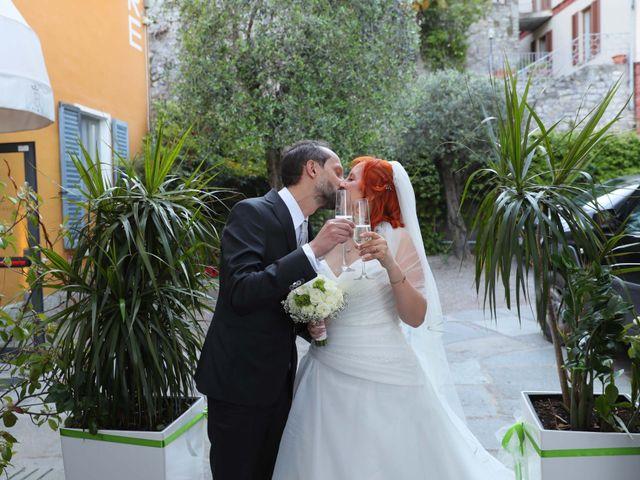 Il matrimonio di Daniele e Rubina a Cernobbio, Como 28