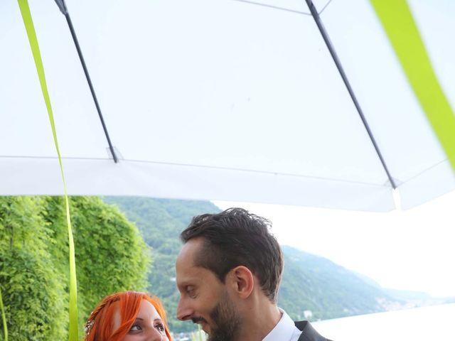 Il matrimonio di Daniele e Rubina a Cernobbio, Como 32