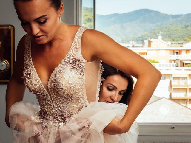 Il matrimonio di Giorgio e Anastasia a Andora, Savona 13