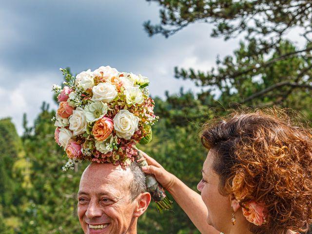 Il matrimonio di Angelino e Arianna a Rovegno, Genova 7