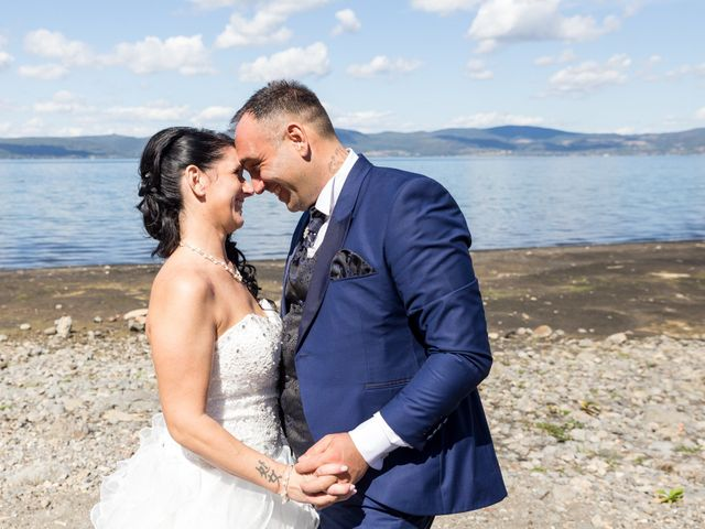 le nozze di Alessandra e Ugo