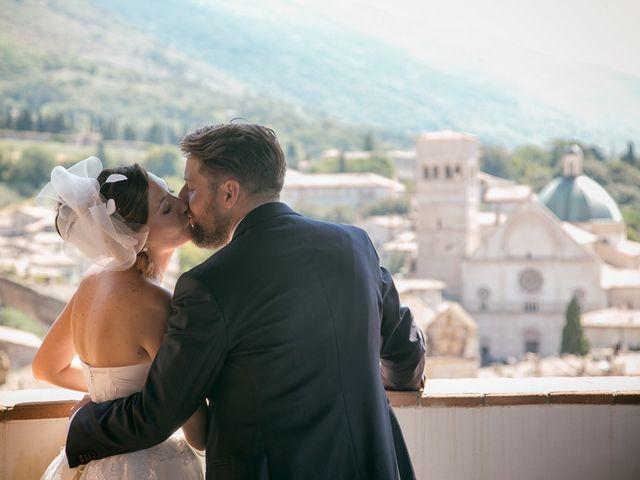 Il matrimonio di Daniele e Daria a Assisi, Perugia 49