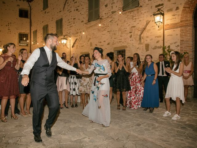 Il matrimonio di Daniele e Daria a Assisi, Perugia 87