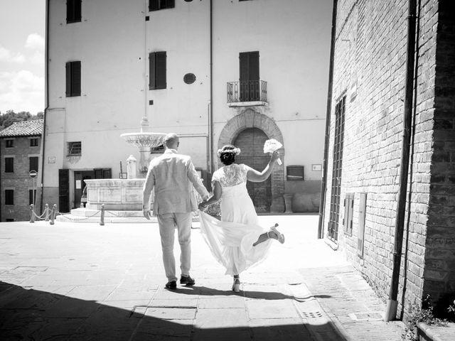 Il matrimonio di Iurie e Kaja a Torgiano, Perugia 5