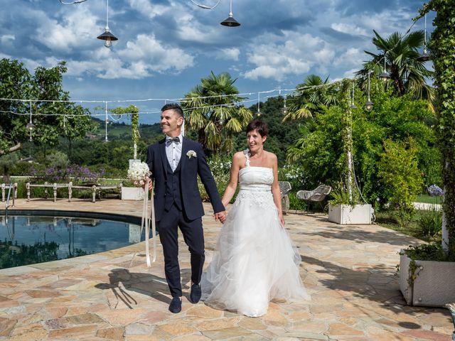 Il matrimonio di Giuseppe e Natalia a Scanzorosciate, Bergamo 57