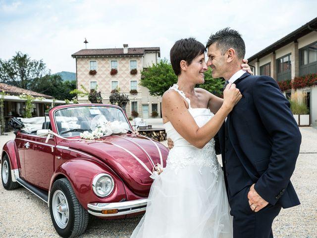 Il matrimonio di Giuseppe e Natalia a Scanzorosciate, Bergamo 75