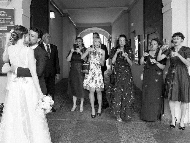 Il matrimonio di Valerio e Elena a Abbiategrasso, Milano 54