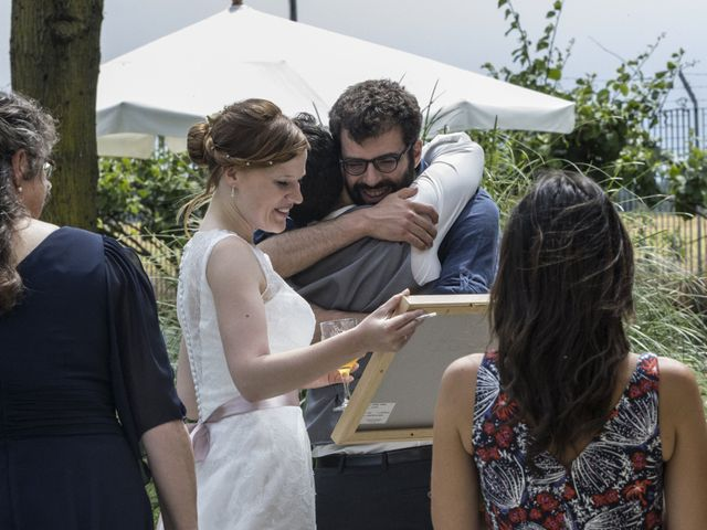 Il matrimonio di Valerio e Elena a Abbiategrasso, Milano 90