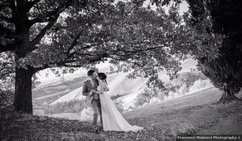 Il matrimonio di Alireza e Silvia a Monteveglio, Bologna