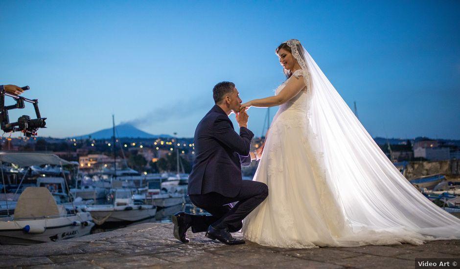 Il matrimonio di Marco e Olivia a Catania, Catania