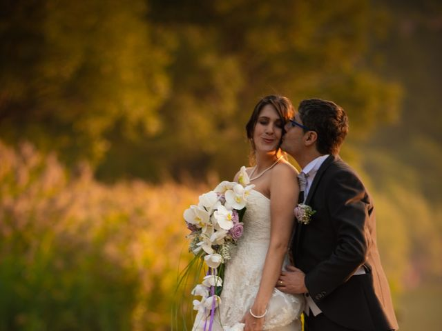 le nozze di Ivy e Matteo