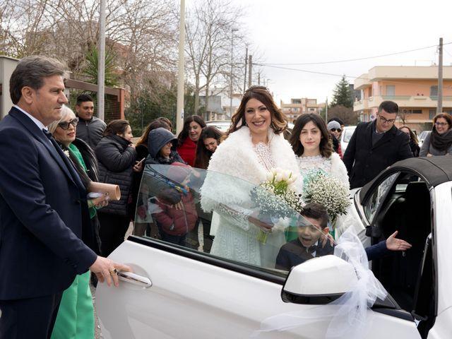 Il matrimonio di Pierfrancesco e Lorena a Grottaglie, Taranto 11