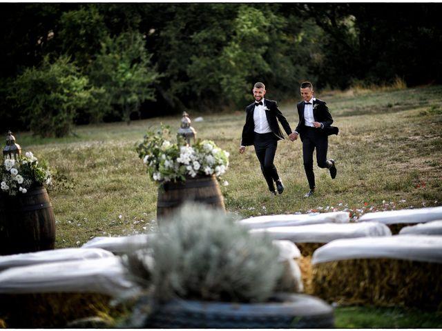 Il matrimonio di Massimo e Mauro a Viterbo, Viterbo 15
