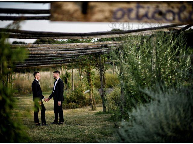 Il matrimonio di Massimo e Mauro a Viterbo, Viterbo 16