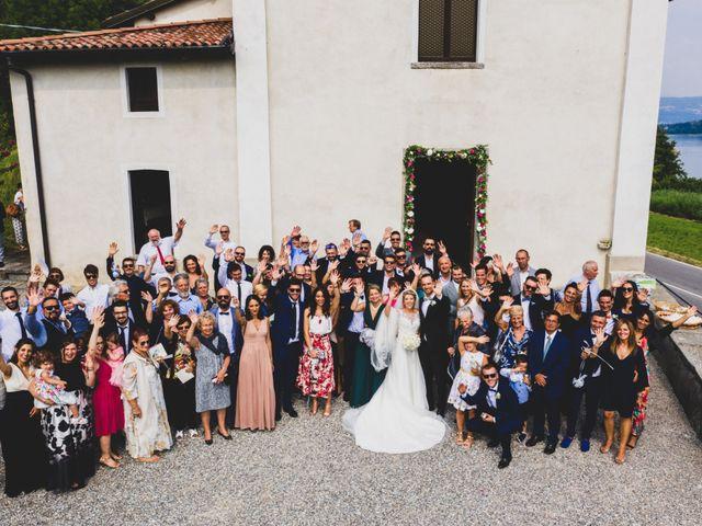 Il matrimonio di Andrea e Veronica a Eupilio, Como 37