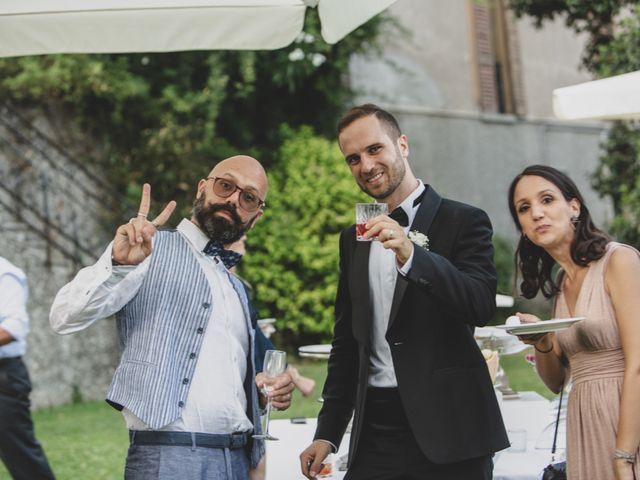 Il matrimonio di Andrea e Veronica a Eupilio, Como 58