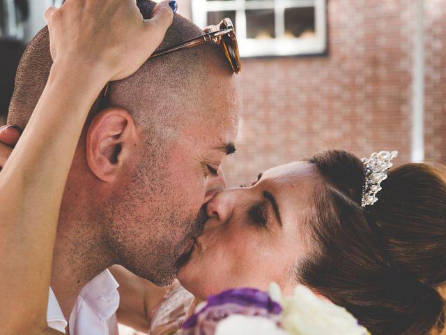 le nozze di Stefania e Erik